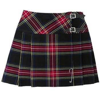 - 51OEubbt99L - Tartanista 16.5″ Scottish Kilt Skirts   Huge Choice of Plaids/Tartans – Free Pin