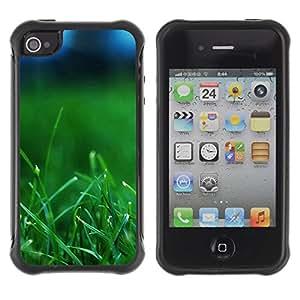 "Hypernova Defender Series TPU protection Cas Case Coque pour Apple iPhone 4 / iPhone 4S [Planta Naturaleza Forrest Flor 37""]"