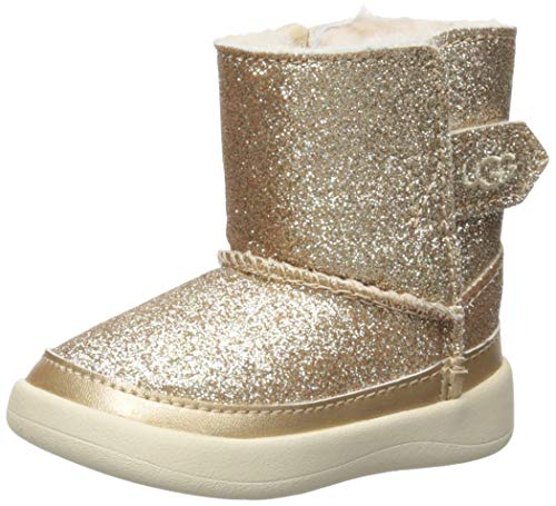 - UGG Baby Girls' I Keelan Glitter Fashion Boot, Gold, 2/3 M US Infant