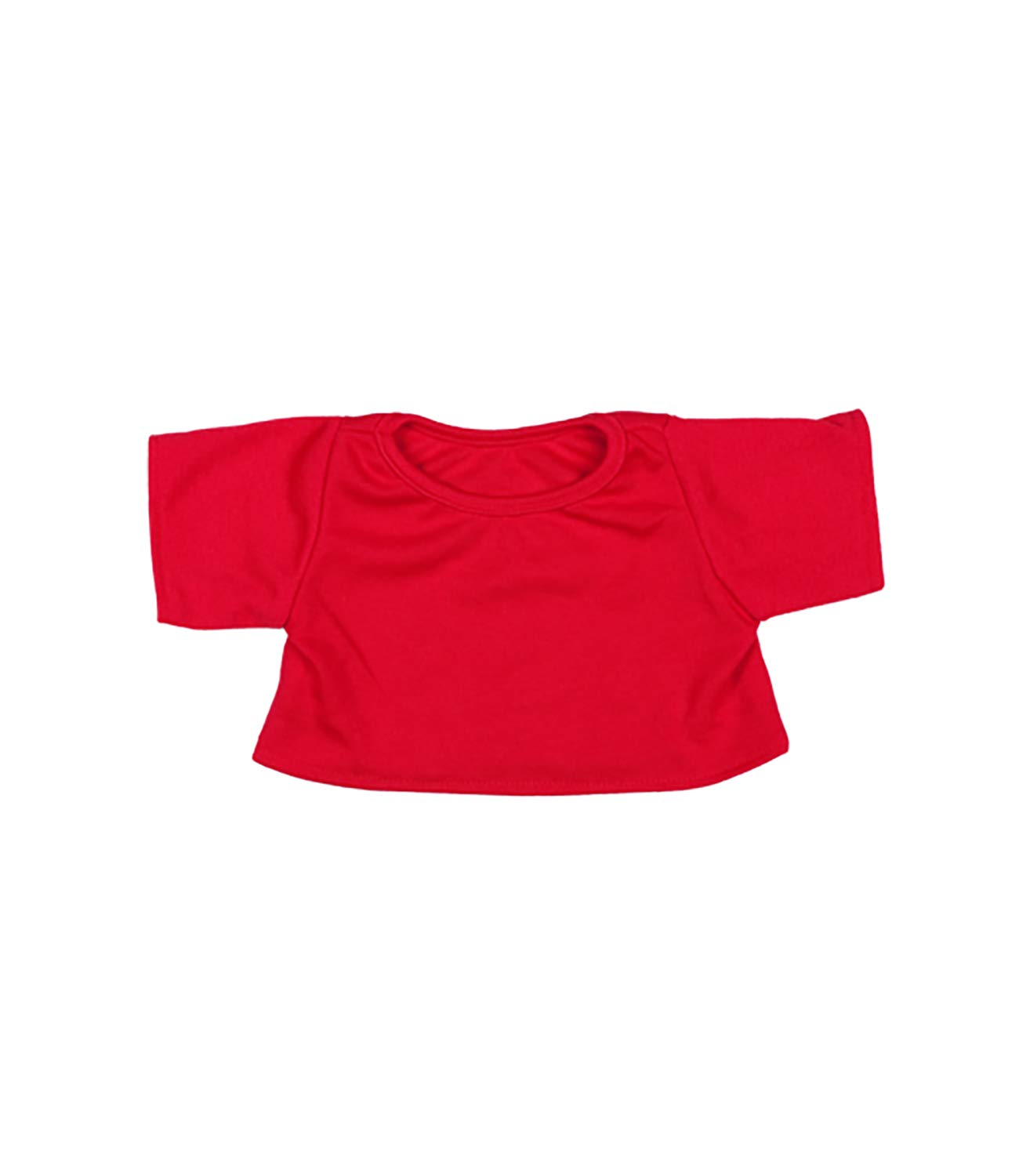 Shining Star and 8-10 Make Your Own Stuffed Animals and Build-A-Bear Red T-Shirt Outfit Fits Most 8-10 Webkinz
