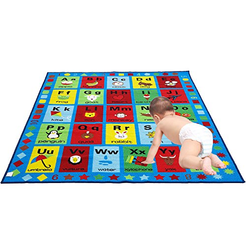 JACKSON Large5'0 x6'6 Collection ABC Fun Kids Rugs, for sale  Delivered anywhere in USA