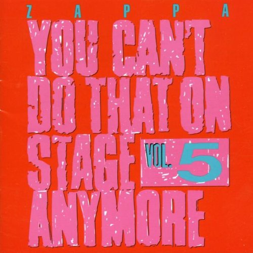 Resultado de imagem para you can't do that on stage anymore