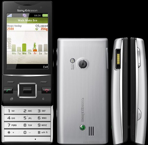 Sony Ericsson Slide (SONY ERICSSON HAZEL J20i / UNLOKCED GSM PHONE (BLACK))