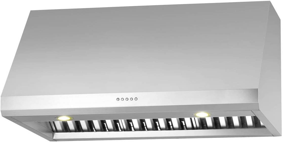 Ancona Pro UC LED Under-Cabinet Range Hood, 30-Inch, Stainless Steel