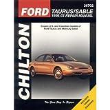 Chilton Repair Manual Ford Taurus & Sable, 1996-05