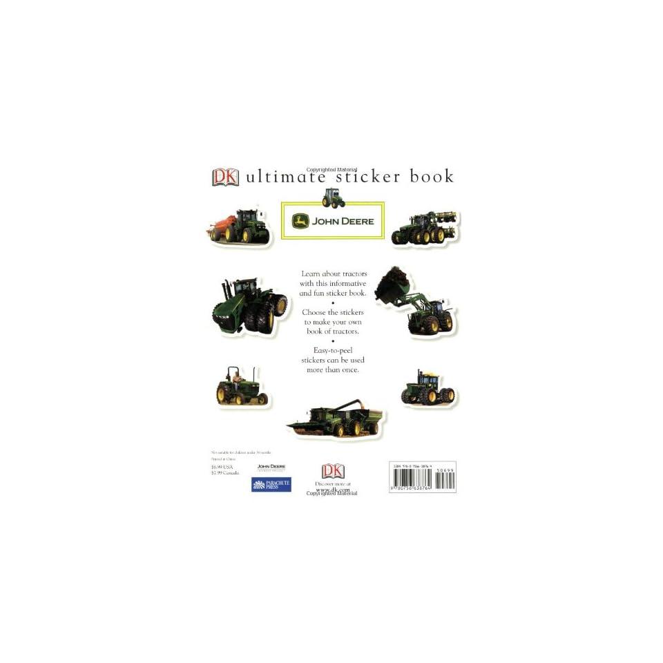 Ultimate Sticker Book John Deere Tractors (Ultimate Sticker Books)