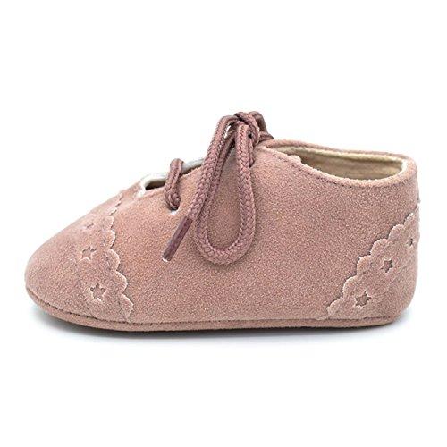 Summens Babyschuhe Mädchen Jungen Lauflernschuhe Krabbelschuhe (0-12Monate) Pink