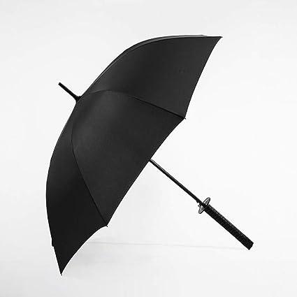 compre los más vendidos como comprar Venta de liquidación LUOJIN Paraguas Negro Japonés Japonés Ninja Mango Largo ...