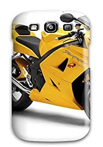 New Premium CaseyKBrown Triumph Daytona Skin Case Cover Excellent Fitted For Galaxy S3