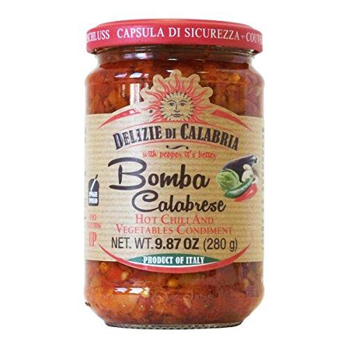 Pepper Italian Hot (Bomba Calabrese Italian Hot Sauce Spread 9.87 oz)