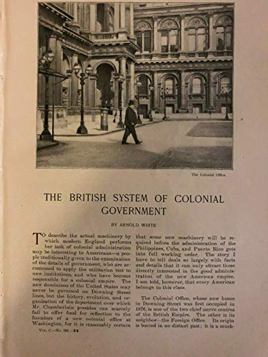 (1900 British Colonial System of Government Joseph Chamberlain Sir Alfred Milner)