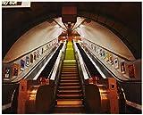 1Wall London Subway Wall Mural, 3.15 x 2.32 mm