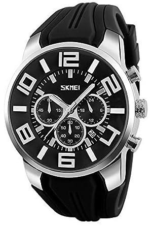 outlet store 24a43 bf76b 腕時計 メンズ 人気ブランド スポーツ おしゃれ 人気 かっこいい シリコン 防水 クロノグラフ 夜光