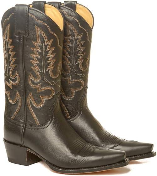 Sendra Boots Western 5335 Judy Wild Liberty zwart: Amazon.nl