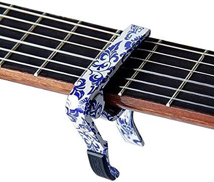 Cejilla guitarra eléctrica para guitarra acústica y eléctrica ...