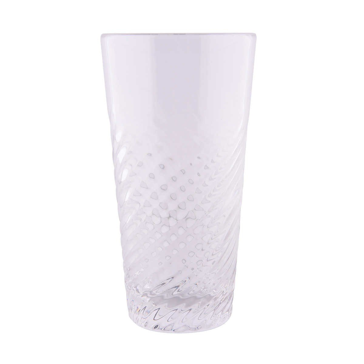 8 Piece Clear Acrylic Tumbler Set 24oz Suitable for Indoors /& Outdoors BPA-Free /& Durable FDG Brands