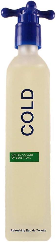 Benetton Benetton Cold New Edition Eau De Toilette Spray, 100 ml