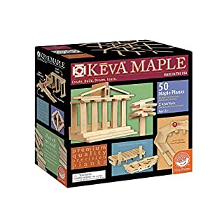 KEVA Maple Plank Set (50 Piece)