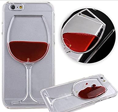 half off 8abf1 6b30b RED WINE LIQUID PHONE PROTECTOR CASE COVER - APPLE IPHONE 6