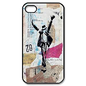Classic popular Michael Jackson fans phone Case Cove For Iphone 4 4S case cover JWH9191914