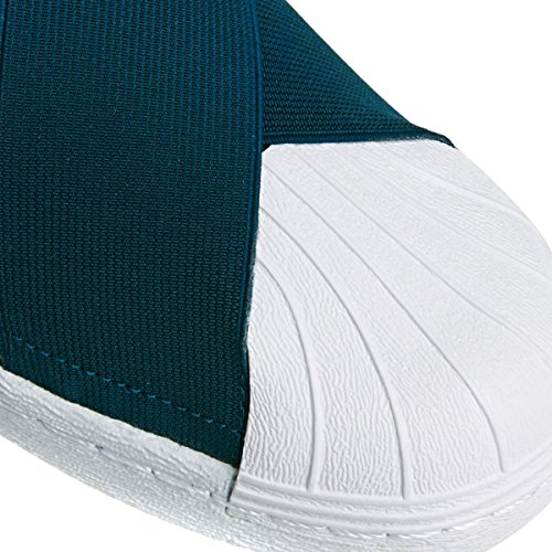Adidas Superstar Slipon W - S75081 Blanco-azul Marino