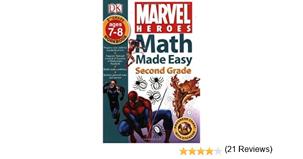 Marvel Heroes: Second Grade (Math Made Easy): DK: 9780756629854 ...