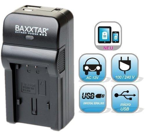 5 in 1 für SONY NP-FW50 Bundlestar Baxxtar RAZER 600 II (70% mehr Leistung 100% mehr Flexibilität) Ladegerät zu Sony ILCE QX1 Alpha 5000 5100 6000 6300 6500 Alpha 7 und 7 II 7S CyberShot DSC RX10 -- Sony NEX-6 NEX-F3 NEX-7 NEX-7B NEX-7C NEX-7K NEX-3 NEX-3N NEX-C3 Nex-5 NEX-5N NEX-5K NEX-5R SLT A55 A33 A35 A37 A3000 usw -- NEUHEIT mit Micro USB Eingang und USB-Ausgang, zum gleichzeitigen Laden eines Drittgerätes (GoPro, iPhone, Tablet, Smartphone..)