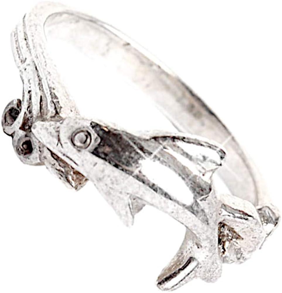 CHIC de Net Plata delicado Delfín Anilla Anillo Plata de ley 925 joyas unisex anillos 55 (17.5): Chic-Net: Amazon.es: Joyería