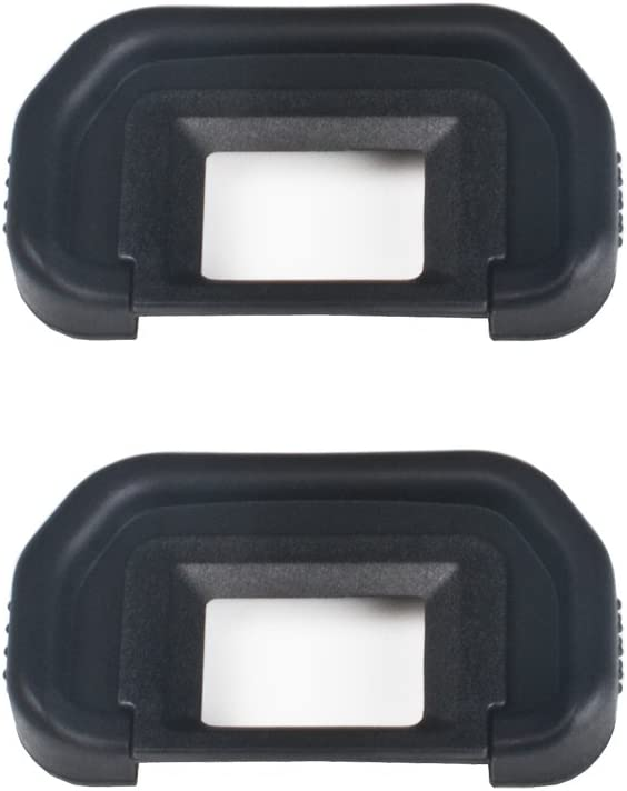 VKO Eyepiece/Eyecup EB Replacement for Canon EOS 5D Mark II/5D2/5DM2/5D/6D/80D/70D/60D/60Da/50D/40D Camera Viewfinder(2 Pack)