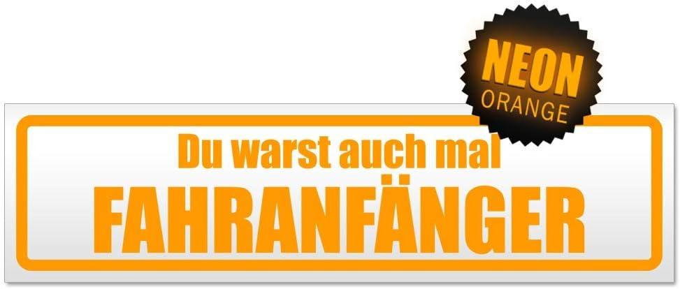 Kiwistar Fahranf/änger warst du auch Magnetschild Schild magnetisch