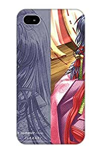 Pinkroses Case Cover Anime Air Kannabi No Mikoto Kanna/ Fashionable Case For Iphone 4/4s