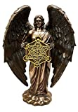 METATRON JUDAISM ANGEL STATUE HIGHEST ORDER ENOCH DIVINE PRESENCE IN FAUX BRONZE