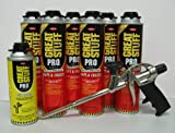 Dow Pro Gaps and Cracks 24 oz Gun Foam (6) + Great Stuff Pro 14 Dispensing Gun (1)+Great Stuff Pro foam Gun Cleaner (1)