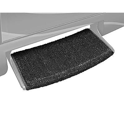 Prest-O-Fit 2-0205 Wraparound Radius RV Step Rug Black 22 In. Wide: Automotive