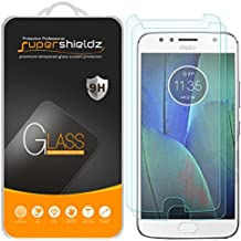 "[2-Pack] Supershieldz for Motorola ""Moto G5S Plus"" Tempered Glass Screen Protector, Anti-Scratch, Anti-Fingerprint, Bubble Free, Lifetime Replacement Warranty"
