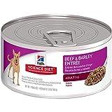 Hill's Science Diet Adult Wet Dog Food, Beef & Barley Entrée Canned Dog Food, 5.8 oz, 24 Pack