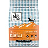 """I and love and you"" Trial Size Naked Essentials Chicken & Duck Grain Free Dry Dog Food, 4 LB"