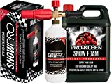 Pro-Kleen Snow Foam Lance / Gun Kit with 5L Cherry Snow Foam For Use With Karcher K Series Pressure Washers (K2 / K3 / K4 / K5 / K6 / K7) 1L Capacity High Quality Manufacturing with Italian Components Fully Adjustable Chemical Dial & Variable Spray Nozzle Easy To Use Instruction Manual Provided Powerful, Heavy Duty, Foamer / Sprayer for Car Washing / Cleaning (5 Litre Pack)