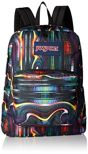 JanSport Unisex SuperBreak Multi Frequency Backpack