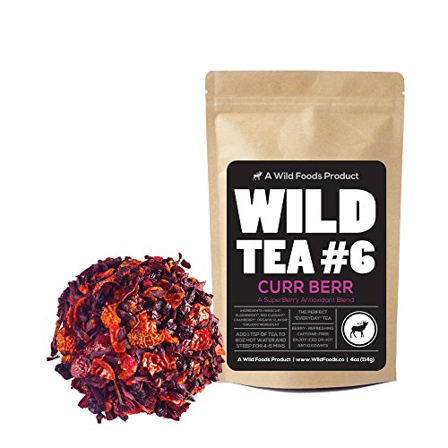 Wild Cranberry (Berry Blend Herbal Tea with Hibiscus, Elderberry, Currant and Cranberry Loose Leaf Herbal Tea by Wild Foods Co (8 ounce))