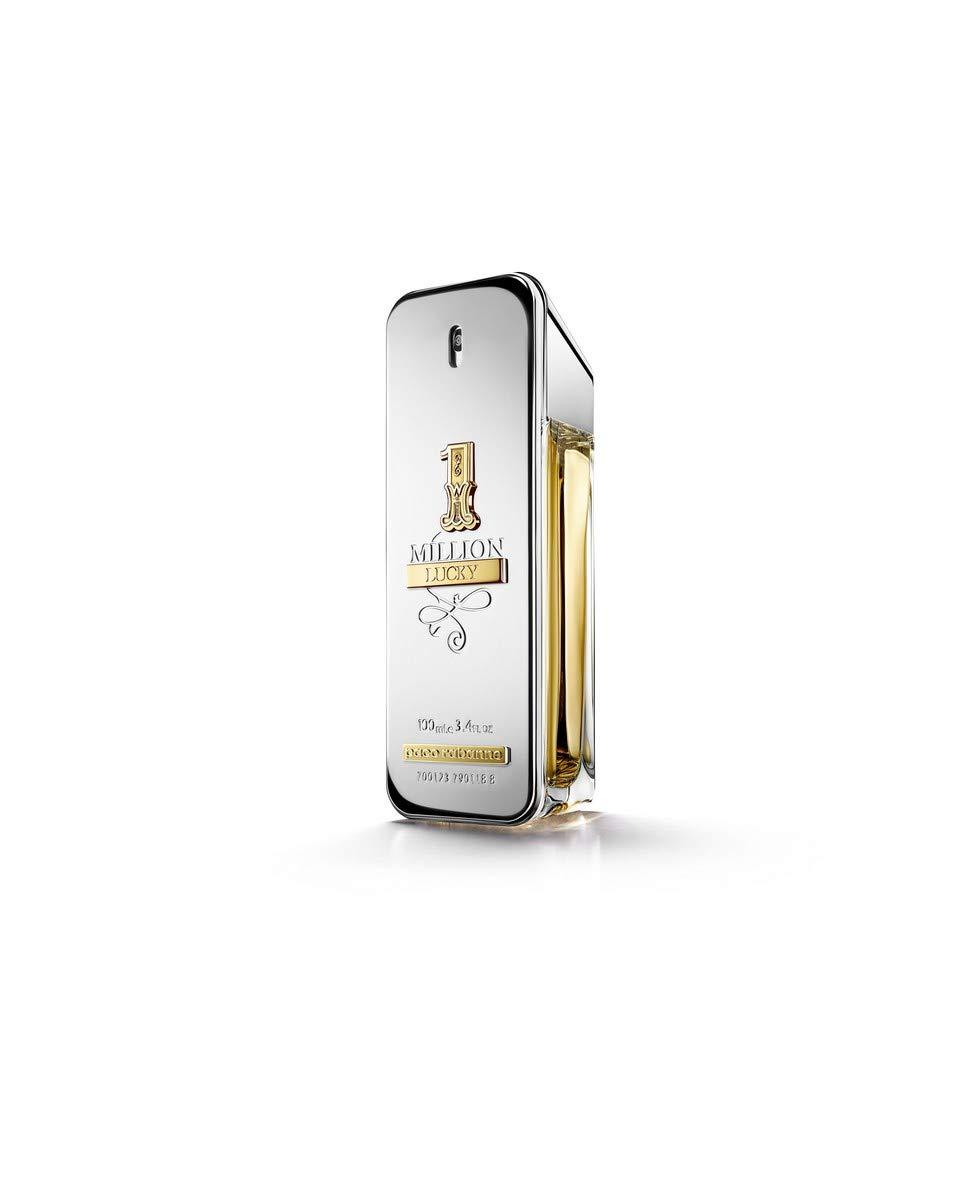 1 Million Lucky by Paco Rabanne Eau de Toilette Spray, 3.4 Fl Oz by paco rabanne