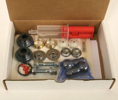 Rennbay Ball Joint Rebuild Kit: Solid Bushing Kit: Porsche 944