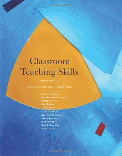 Download By James M. Cooper Classroom Teaching Skills (9th Edition) pdf