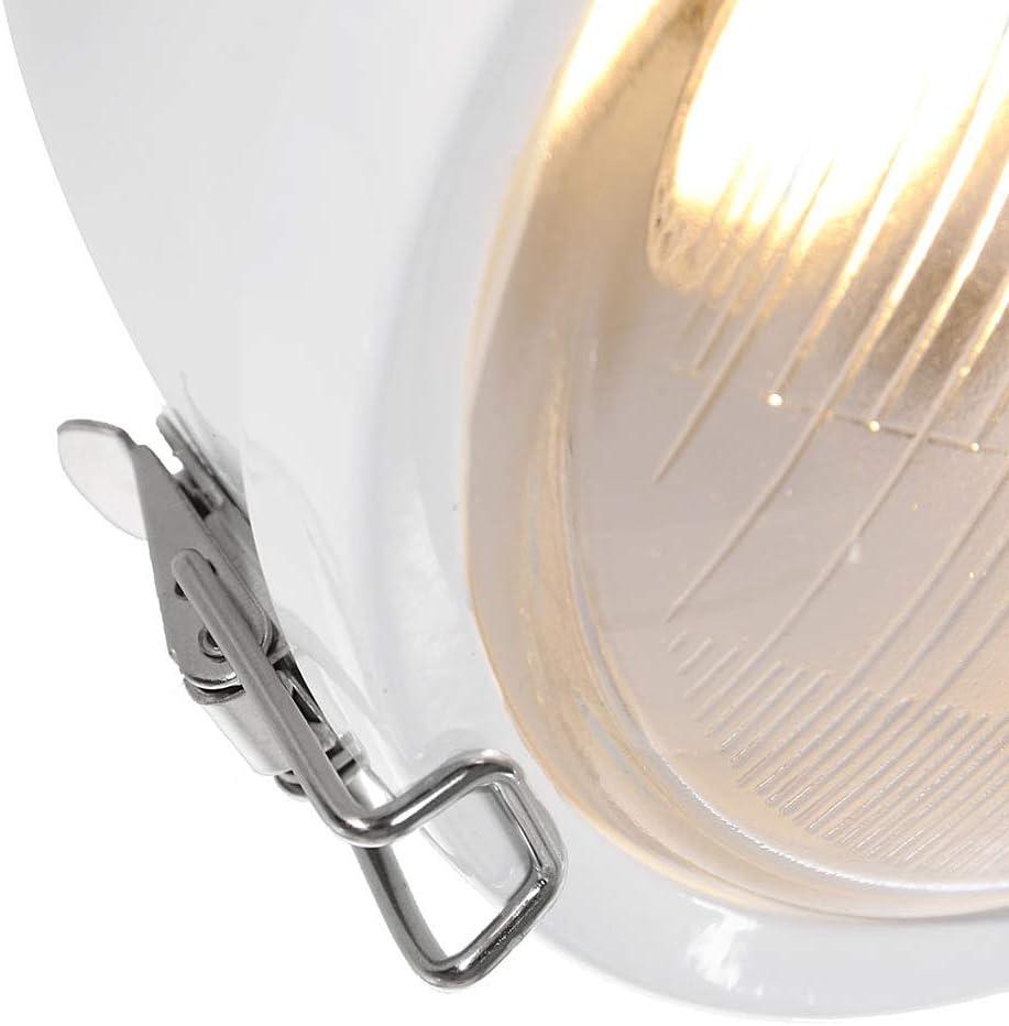 cristal GiveAway Plafonnier en bois blanc et m/étal Old Spotlights 2 ampoules Spot Applique murale style rustique industriel vintage GU10-7W LED 1704W