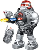 Toys : Thinkgizmos Remote Control Robot Fires Discs, Dances, Talks - Super Fun RC Robot