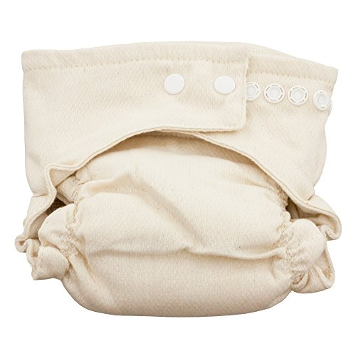 OsoCozy Fitted Bamboo Organic Cloth Diaper (Size 1 (7-18 lbs)) ()
