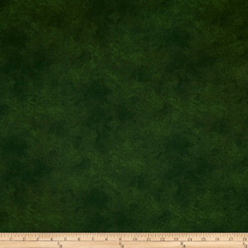 P & B Textiles Suede Medley Fabric by the Yard, Hunter -  0564556