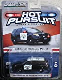 Greenlight 1/64 CHP California Highway Patrol Ford Utility Police SUV - Black & White