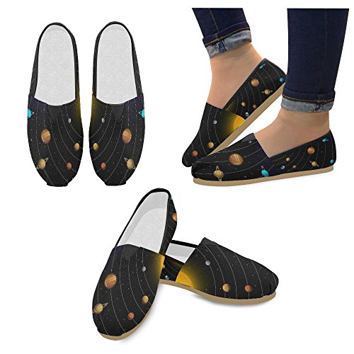 Wave Sneakers Multi13 Slip Womens Sea Classic Fashion D Shoes Flats Canvas Loafers On Story WROcpEnqX