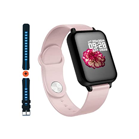 Smart Watch for Android iOS Phones 2019 Winter Upgraded, Waterproof Fitness Tracker with Heart Rate and Blood Pressure Monitor, Sleep Tracker, Step ...